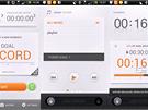 Aplikace iRiverOn: průběh tréninku