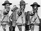 I tihle indiáni bojovali ve druhé světové válce, konkrétně jako součást Národní