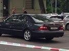 Na pražském Ostrčilově náměstí policisté vyšetřovali výbuch v přední části...