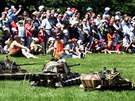 Ve Stodůlkách se odehrály bitvy v Ardenách a Midway.