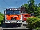 V Beskydech se na více než hodinu zasekla lanovka na Javorový vrch. (8. června...