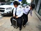 pojízdný kufřík, vynálezce