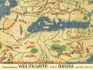 Idrisi, Rogerova mapa, 1154