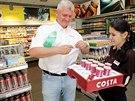 Řetězec supermarketů Billa otevřel na benzinové stanici Shell v Praze první non-stop mini market.