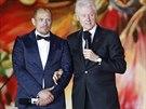 Bill Clinton a organizátor plesu Gery Keszler