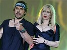 Courtney Love a manžel Vivienne Westwoodové Andreas Kronthaler