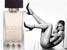 Reklama na parfém s Rihannou