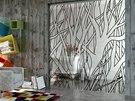 Celosklen�n� dve�e (grafosklo) do stavebn�ho pouzdra - dekor je nejen zdob�,