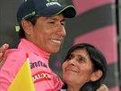 Kolumbijsk� cyklista Nairo Quintana.