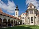 Telčský zámek patří mezi klenoty moravské renesanční architektury.