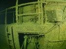 Vrak německé ponorky SM U-26 z první světové války na dně Finského zálivu.