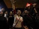 St�vka pokra�uje, i kdy� ji soud ozna�il za neleg�ln� (Sao Paulo, 9. kv�tna...