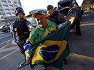 St�vka pokra�uje, i kdy� ji soud ozna�il za neleg�ln� (Sao Paulo, 9. �ervna...