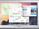 Nové grafické rozhraní OS X od Apple