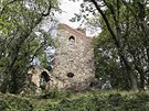 Třináct metrů vysoká rozhledna v parku Cibulka, odkud je výhled na Motol a...