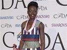 Lupita Nyong'o na ud�len� CFDA Fashion Awards (New York, 2. �ervna 2014)