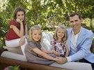 Španělský korunní princ Felipe, princezna Letizia a jejich dcery, princezna...
