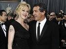Melanie Griffithová a Antonio Banderas (Los Angeles, 26. února 2012)