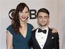 Erin Darke a Daniel Radcliffe na Tony Awards (New York, 8. �ervna 2014)