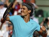Španělský tenista Rafael Nadal hladce postoupil do finále Roland Garros.