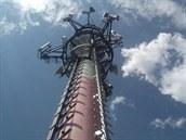 Telekomunika�ní v� na rozhledn� Hrubý Jeseník na Nymbursku