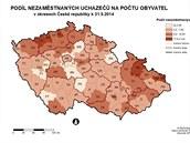 Nezaměstnanost v ČR v květnu 2014.