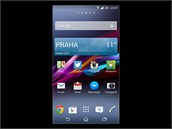 Displej smartphonu Sony Xperia Z2
