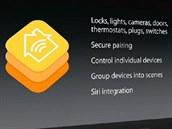 HomeKit od Applu nabídne vytváření skupin spotřebičů pro snadnější ovládání a...