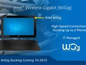 Bezdrátový systém WiGig má fungovat jako dokovací stanice nejen pro monitory.