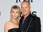 Trudie Stylerová a Sting na Tony Awards (New York, 8. �ervna 2014)