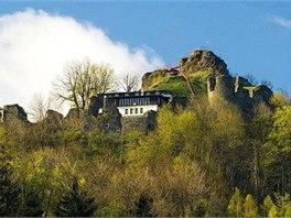 Hrad Tolštejn s hradní restaurací