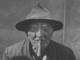 Josef Váchal na snímku Dagmar Hochové