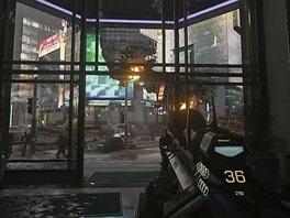 První předvedenou hrou je střelnice Call of Duty: Advanced Warfare. Microsoft...