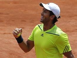 DAŘÍ SE. Fernando Verdasco na Roland Garros.
