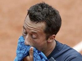 DŘINA. Philipp Kohlschreiber na Roland Garros.
