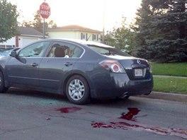 Agentura AP zveřejnila ke zprávě o střelbě v kanadském Monctonu fotografii...