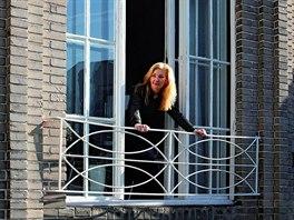 Janina Šlemínová strávila v tomto domě se svou agenturou několik let. Kromě...