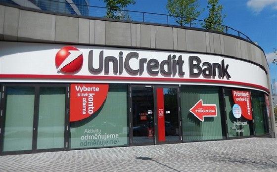 Jedno ze 150 obchodn�ch m�st UniCredit Bank v �esk� republice. Zdroj: UniCredit...