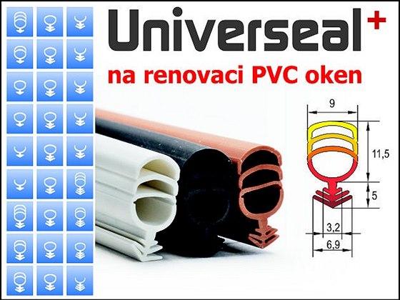 Těsnění pro rekonstrukce, nyní i na PVC okna
