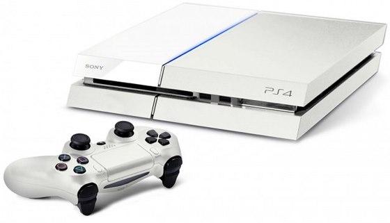 Bílá verze konzole PlayStation 4
