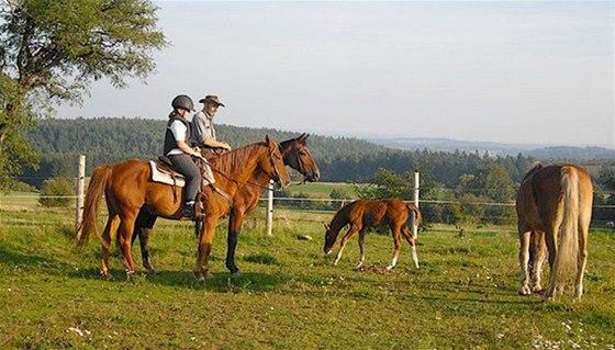 Na ranči Calamity Jane si užijete výlety na koních