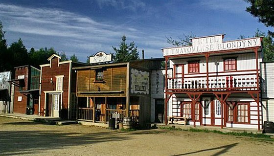 Westernové městečko v Boskovicích