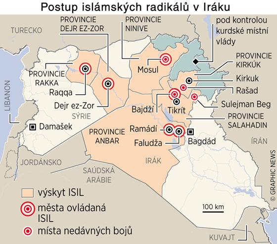 Postup islámských radikálů v Iráku