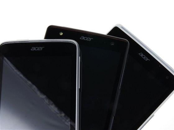 Acer Liquid E3, Liquid Z4 a Liquid Z5