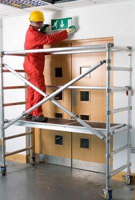 Hliníkové lešení jako přístupový systém do malých i větších výšek