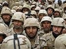 Vojáci třetí divize irácké armády v Mosulu. Archivní snímek z roku 2011.