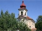 Kostel sv. Jana K�titele v Pa�tik�ch