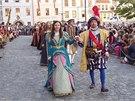 Průvod v historických kostýmech