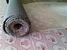 Podložky jsou silné kolem deseti milimetrů.