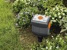 Zemní čidlo pozná, že je půda suchá, a dá počítači pokyn k zavlažení.